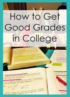 How to Get Good Grades in College | SR Trends via @srtrends #college