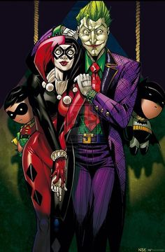 The Joker and Harley Quinn - Oliver Nome