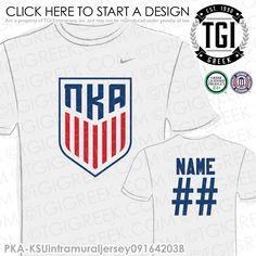 Pi Kappa Alpha | Pike | ΠΚΑ | Intramural | Athletics | Brotherhood | Greek Life | Intramural Tee | Intramural Jersey | TGI Greek | Greek Apparel | Custom Apparel | Fraternity Tee Shirts | Fraternity Tanks | Fraternity T-shirts