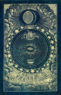 vintage occult posters and art // Moon tarot card // Moon Phase Illustration Occult Art, Mystique, Art And Illustration, Sacred Geometry, Geometry Art, Graphic, Dark Art, Magick, Mythology