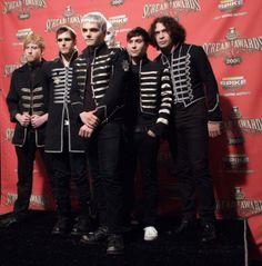 My Chemical Romance - Bob Bryar, Frank Iero, Gerard Way, Mikey Way, Ray Toro