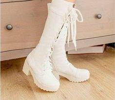 2013 woman Winter Fashion Cross straps Thick Heel Casual boots 2color