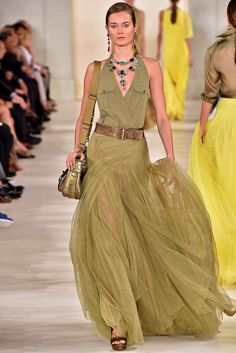 Ralph Lauren, Spring/Summer 2015, Ready-to-Wear