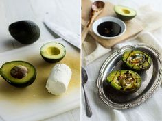 Zucchini and Goat Cheese with Balsamic Reduction
