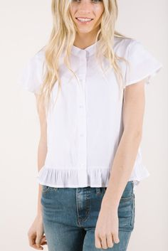 Model is wearing a small 50% polyester 50% rayon nursing friendly