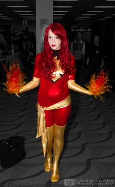http://instagram.com/kirichancosplay as #DarkPhoenix #Cosplay from #SteelCityCon #ComicCon ----- Check out more of my photography @ http://www.facebook.com/MidnightSkyPhotography (Link in Profile) ----- #MidnightSkyPhotography #MidSkyPhoto