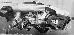 Passport Transport Auto Shipping?  Ship it with http://LGMSports.com Vintage Drag Racing - Hawaiian Funny Car Crash