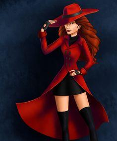 Carmen Sandiego by *Whisperwings on deviantART