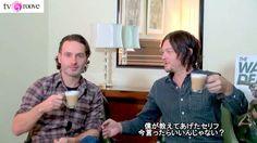 爆笑! 「ウォーキング・デッド」ノーマンがアンドリューにデタラメな日本語を教えて見事にひっかかる RICKYL