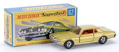Matchbox Superfast MB62-c Mercury Cougar