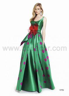 Vestidos de Fiesta Patricia Avendaño. MUNDO NOVIAS mod 1770  http://www.bodacor.com/bodas-zaragoza-huesca-teruel-pamplona/provincia/aragon/mundo-novias-0#