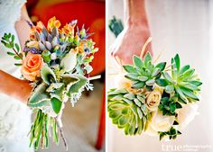 wedding bouquets with succulents | ... masculinity that succulents bring to the classic flower boutonniere