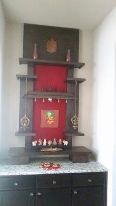 quirky home decor home decor minimalist home decor dys Ethnic Home Decor, Quirky Home Decor, Indian Home Decor, Indian Interior Design, Contemporary Interior Design, Altar, Mandir Design, Pooja Room Door Design, Home Temple