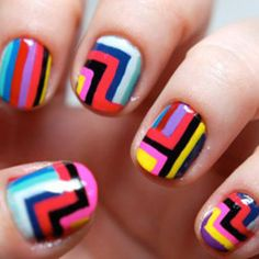 Awesome nails!!! I think I'll have to invest in some of those Sally Hansen nail polish pens after all.