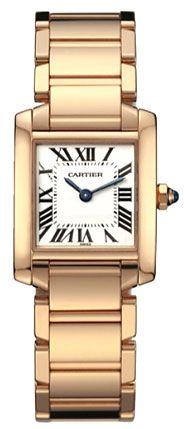 Gold Cartier Tank Watch