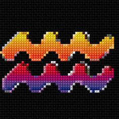 Cross Stitch | Aquarius xstitch Chart | Design