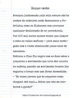 Outras histórias em http://historias-de-bolso.blogspot.pt/  #Histórias #Suspense