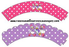 Daisy - Full Kit with frames for invitations, labels for snacks, souvenirs and pictures!   Making Our Party