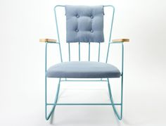 I've fallen in love with these pieces from Race Furniture from the and Heron Chair and Ottoman Race Rocker Chair Chair And Ottoman, Sofa Chair, Bespoke Furniture, Furniture Design, Distressed Furniture Painting, Wooden Rocking Chairs, Take A Seat, Home Living, Chair Design