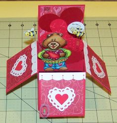 How to make a pop up box by Edwina at Robyns Fetish. Lots of options for this project. #PopUp, #PopUpBox, #PopUpCard, #PopUpBoxTutorial, #HowToMakePopUp, #PopUpCardTutorial, #Cardmaking, #Papercrafting, #HandmadeCard, #HomemadeCard, #HandcraftedCard, #Card, #CardIdea, #Tutorial, #CardTutorial, #PaperCraftTutorial, #PapercraftingTutorial, #CardMakingTutorial, #Technique, #CardTechnique, #PaperCraftTechnique, #PapercraftingTechnique, #CardmakingTechnique, #CardHowTo, #PaperCraftHowTo, #HowTo