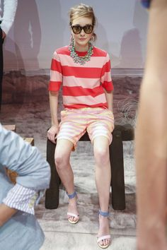 JCrew Fashion Show Ready to Wear Collection Spring Summer 2016 in New York