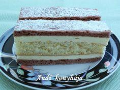 Andi konyhája - Sütemény és ételreceptek képekkel - G-Portál Vanilla Cake, Muffin, Food, Meals, Muffins, Yemek, Eten