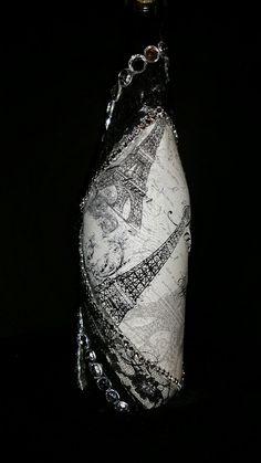 Vase bouteille de vin