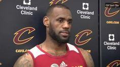 """LeBron James on Warriors: """"Almost like playing San Antonio"""""""