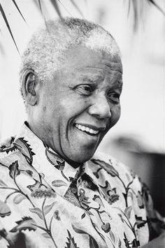 Nelson Mandela, Sydney by  David Moore (Australian Photographer)  2000