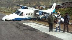 Sita Air Dornier Do-228. No injuries.