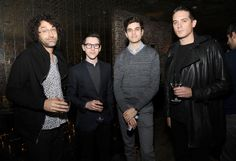 Harry Bee, G-Eazy and guests at our NYLON Guys March issue launch party