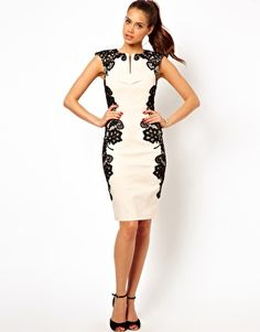 Image 4 of Paper Dolls Mirrored Lace Bodycon Dress