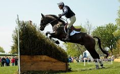 Cross-country jumping at Rolex Three-Day Event at Kentucky Cross Country Jumps, Kentucky Horse Park, Jumping Horses, English Riding, Hunter Jumper, Show Jumping, Horse Farms, Horse Photography, Big Dogs