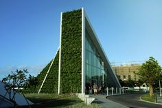 Hualien Residences, Hualien City, Taiwan, Photograph by Jinho Lee Big Architects, Famous Architects, Architect Logo, Architect Design, Architect House, Green Architecture, Sustainable Architecture, Hotel Architecture, Contemporary Architecture