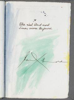 Etre réel étant mort  Sinon vivre toujours.  Paul Eluard Quote Citation, Beautiful Words, Shelter, Poetry, Collage, Illustration, Quotes, Inspiration, Beautiful Things