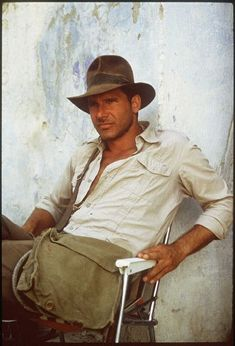 Indiana Jones taking a break