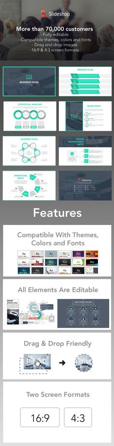 Amazing Layouts - PowerPoint Template Creative Presentation Ideas