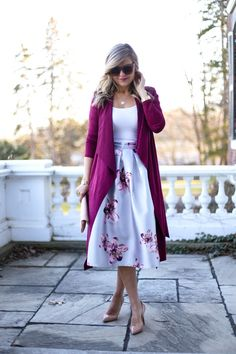 Ring in Spring ~ Suburban Faux-Pas Modest Wear, Modest Dresses, Modest Outfits, Classy Outfits, Casual Dresses, Cool Outfits, Fashion Dresses, Modest Clothing, Skirt Outfits