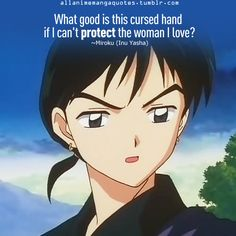 Anime quotes: Inuyasha