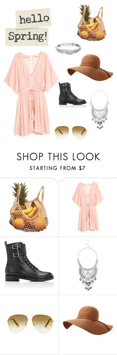 """""""Untitled #30"""" by nerdygets on Polyvore featuring Gianvito Rossi, Miss Selfridge, Victoria Beckham and Kate Spade"""