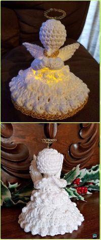 Crochet Peace on Earth Angel Free Pattern - Crochet Angel Free Patterns