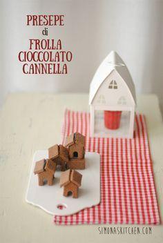 Simona'sKitchen: Presepe di Frolla al Cioccolato e Cannella - Shortbread Presepe with Chocolate and Cinnamon - Presepe de Pâte Brisée au Chocolat et Cannelle