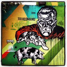 Streetart, Bogota, Colombia