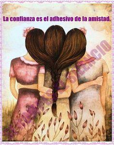〽️ La conveniencia fianza es el adhesivo de la amistad