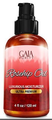 skin tightening oil Rosehip Oil, Large 4oz - All Natural, Best Moisturizer for Face, Hair & Body to Help Heal Dry Skin, Diminish Scars, Discoloration, Acne, Wrinkles, Stretch Marks, Eczema, Skin Tags and Brittle Nails. Cold Pressed, Unrefined, Virgin Rose Hip Seed Oil with Anti-Aging Properties $7.99 & FREE Shipping on orders over $25.