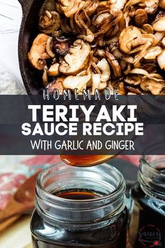 My Homemade Teriyaki Sauce recipe is a deliciously easy teriyaki glaze you can make in 5 minutes! Made with simple ingredients, it's perfect for using in all your favorite teriyaki recipes. Teriyaki Stir Fry Sauce, Teriyaki Sauce Ingredients, Teriyaki Glaze, Homemade Teriyaki Sauce, Savory Sauce Recipe, Sauce Recipes, Crispy Fried Chicken, Fried Chicken Sandwich, Garlic Recipes