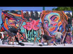 Commission A Mural, Atlanta Mural Artist, African American Mural, Mural NBC Escape Routes, Mural Competitionn, Mural Wall Art, African American Muralist, Atlanta Mural Painting, Corey Barksdale Art, Atlanta Mural Paintings