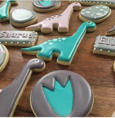"""Aime Pope on Instagram: """"#cookies #decoratedcookies #customcookies #dinosaurs #dinosaurcookies #birthday"""""""