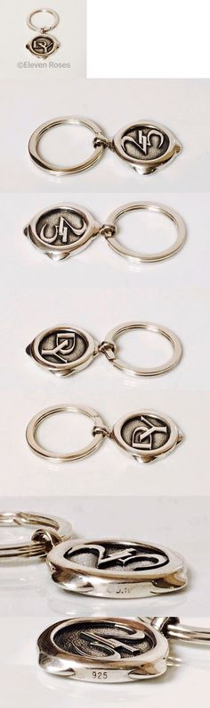 Other Mens Jewelry 177770: Mens David Yurman Dy Logo Key Chain Keychain Fob Dy 925 Sterling Silver -> BUY IT NOW ONLY: $245 on eBay!