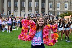 Delta Gamma at Pennsylvania State University #DeltaGamma #DG #BidDay #letters #sorority #PennState